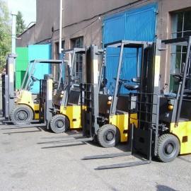 Remonty wózków widłowych i platformowych
